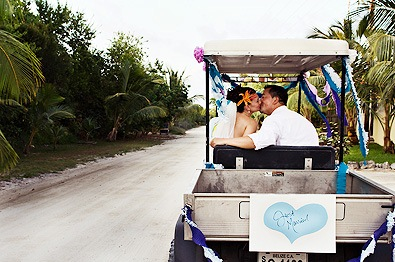 Barefoot in Belize, Beach Wedding Package