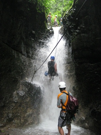 Belize Zipline & Waterfall Rappaling Adventure